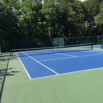 Tennis Court Repairs are Complete – Australian Open Surface Installed