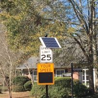New Speed Indication Devices in Service