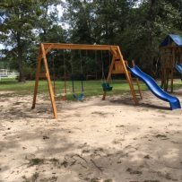 New Playset in Playground Area