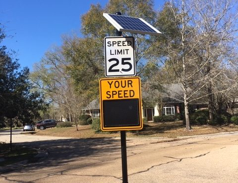 River Oaks – Speed Control Devices Added